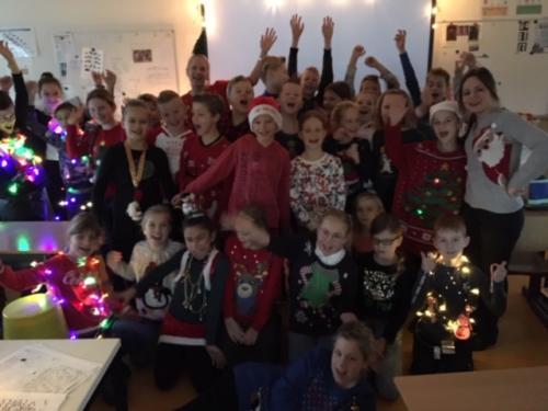 Groep 6, Foute kersttruiendag, 14 december 2018