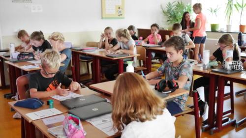 Groep 6, de eerste schoolweek